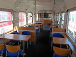 200km/h Lunch Counter and Dining Car WRmbz 138 Buffet Car Dinette